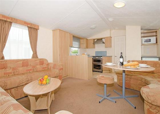 Comfort 4 Caravan (Pet Friendly) at Beverley Bay, Paignton