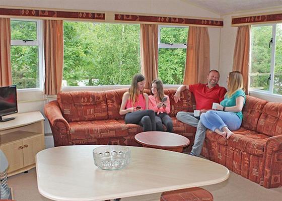 Comfort Caravan 3 at Rookley Park, Ventnor