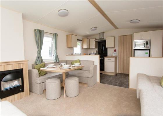Comfort Caravan 6 Pet at Whitecliff Bay Holiday Park, Bembridge