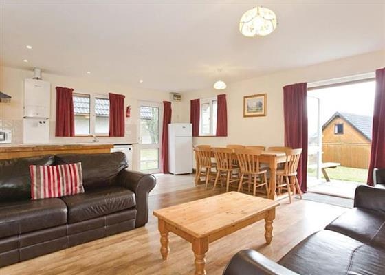 Comfort Lodge 4 at Hengar Manor Country Park, Bodmin