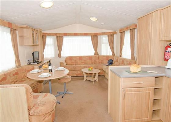 Comfort Plus 4 Caravan (Pet Friendly) at Beverley Bay, Paignton