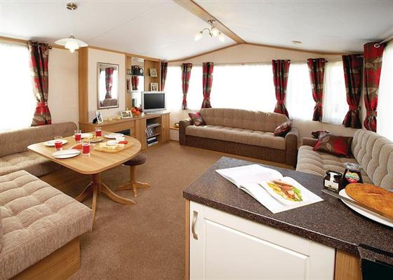 Comfort Plus Caravan 3 at Lochgoilhead Lodges, Cairndow