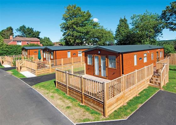 Country Holiday Home Six Platinum at Edgeley Holiday Park, Guildford
