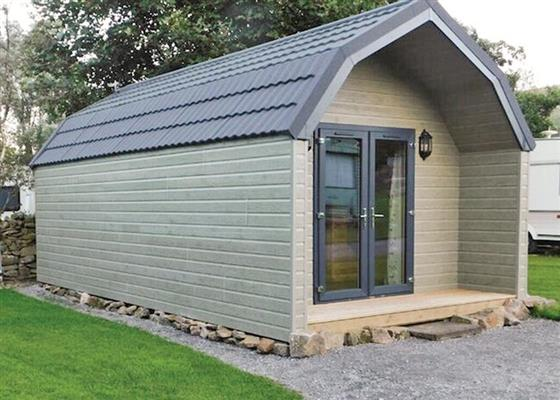Country Pod at Bainbridge Ings, Hawes