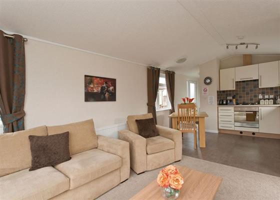 Couples Lodge at Swainswood Park, Swadlincote