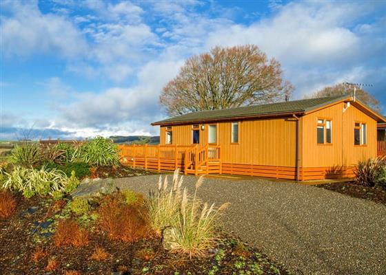 Cree Hilltop at Nunland Hillside Lodges, Dumfries