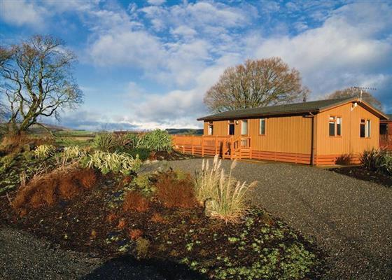 Criffel Hilltop Lodge at Nunland, Dumfries
