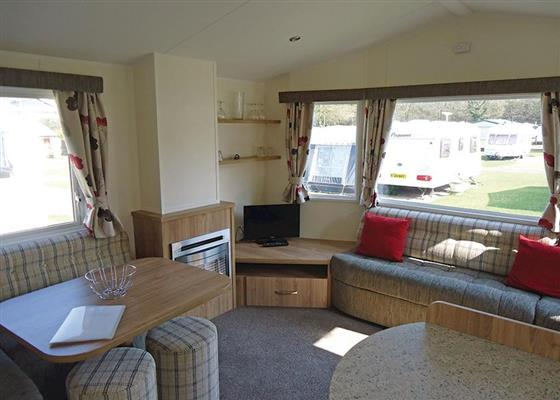 Culm Caravan at Forest Glade Holiday Park, Ilfracombe