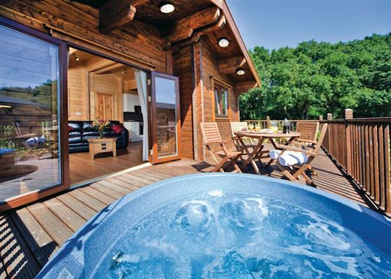 Deben Lodge at Heathside Lodges, Halesworth