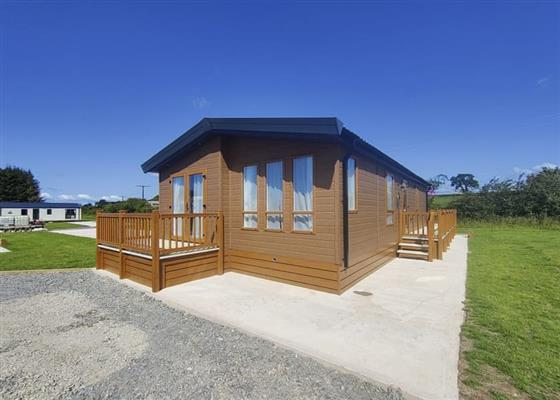 Debonair Lodge at Westlands Country Park, Annan