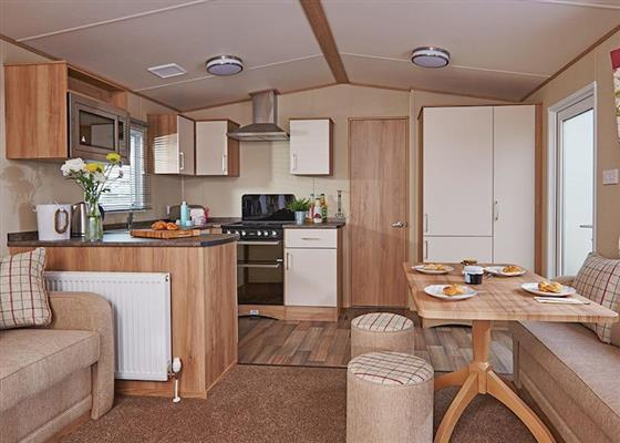 Deluxe 3 at Riverside Country Park, Wooler