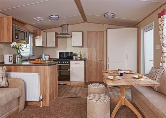 Deluxe Caravan 2 (Pet) at Pease Bay Holiday Park, Cockburnspath