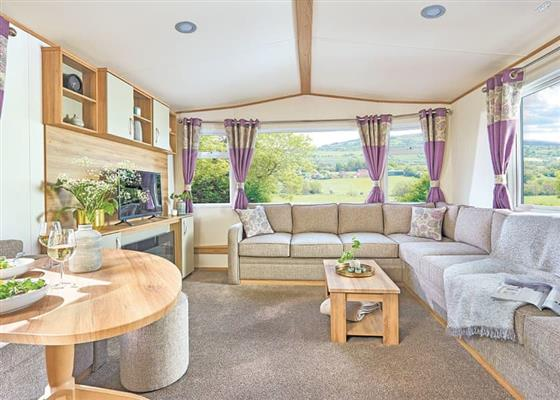 Deluxe Caravan 2 (Pet) at Scoutscroft Leisure Park, Eyemouth