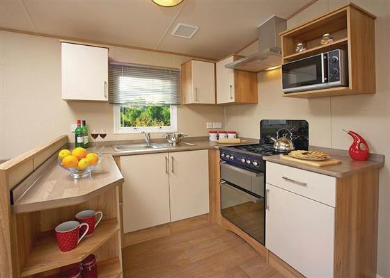Deluxe Caravan 2 at Viewfield Manor Leisure Park, Kilwinning