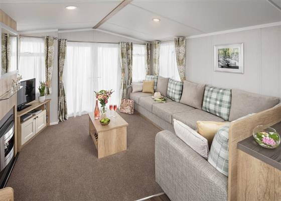 Deluxe Caravan 3 at Queensberry Bay Leisure Park, Annan