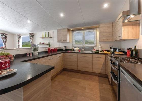 Deluxe Lodge 3 (Pet) at Riverside Country Park, Wooler