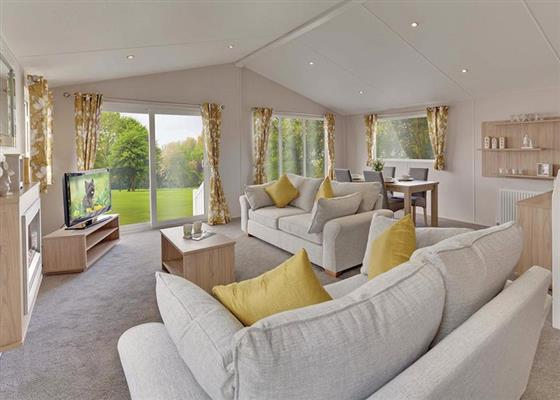 Deluxe Lodge 3 at Coldingham Bay Leisure Park, Eyemouth