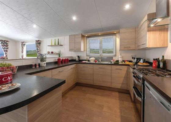 Deluxe Lodge 3 at Riverside Country Park, Wooler