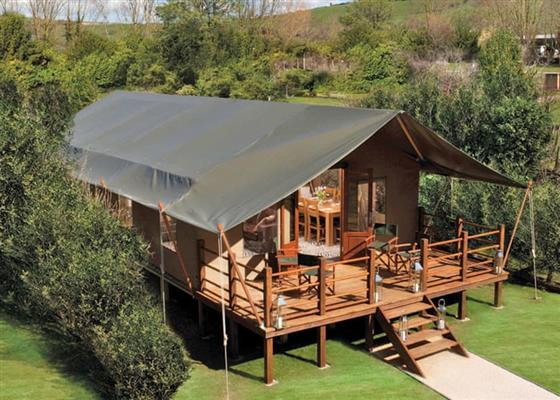 Deluxe Safari Lodge 3 (Pet Friendly) at Waterside Safari Lodges, Weymouth