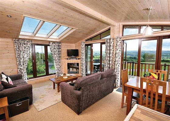 Derwen Lodge at Belan Bach Lodges, Welshpool