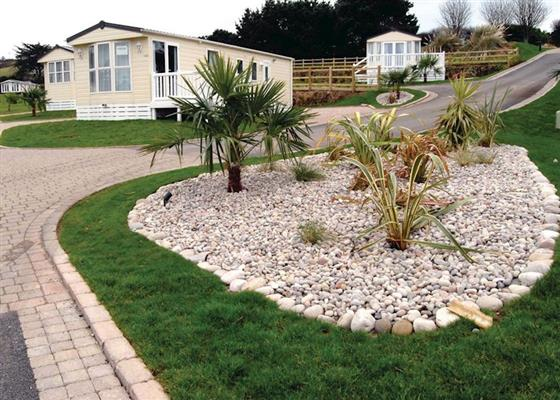 Discovery Caravan at Praa Sands Holiday Park, Penzance