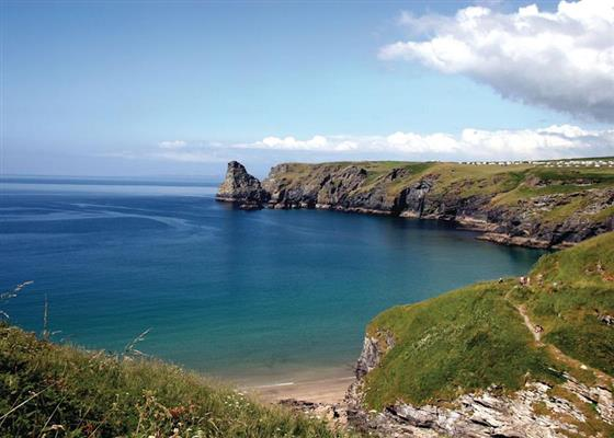 Dowr Apartment at Bossiney Bay Cottages, Tintagel