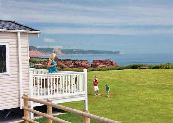 Driftwood Lodge at Ladram Bay, Budleigh Salterton