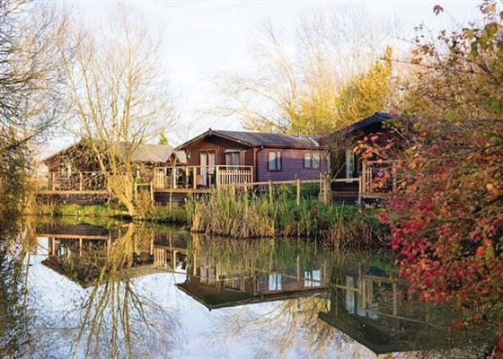 Dunlin Lodge at Fairwood Lakes Holiday Park, Westbury