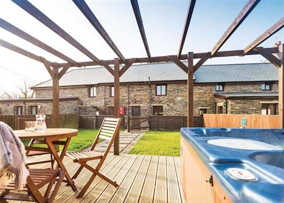 Ebrenn Cottage (Pets) at Bossiney Bay Cottages, Tintagel