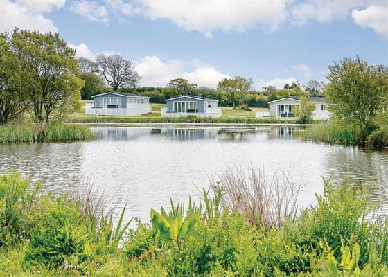 Elm Lodge at Florence Springs Lakeside Lodges, Tenby