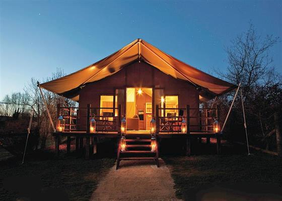 Exclusive Safari Tent 2 at Waterside Safari Tents, Weymouth