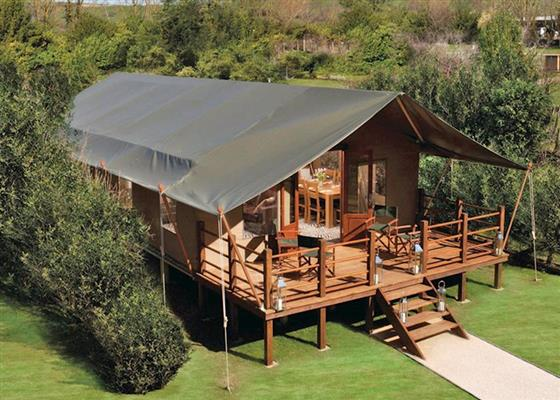 Exclusive Safari Tent 3 - LP15049  Waterside Safari Tents & Waterside Safari Tents - Weymouth Dorset | Self catering holidays ...