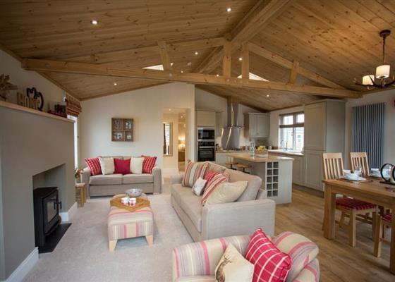 Forester Lodge at Quarry Walk Lodges, Stoke-on-Trent