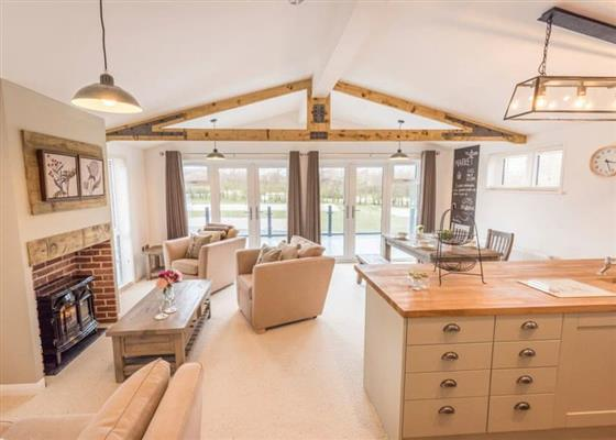 Foxglove Lodge at Florence Springs Lakeside Lodges, Tenby