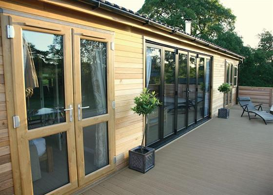Freedom Lodge at Upton Lakes Lodges, Cullompton