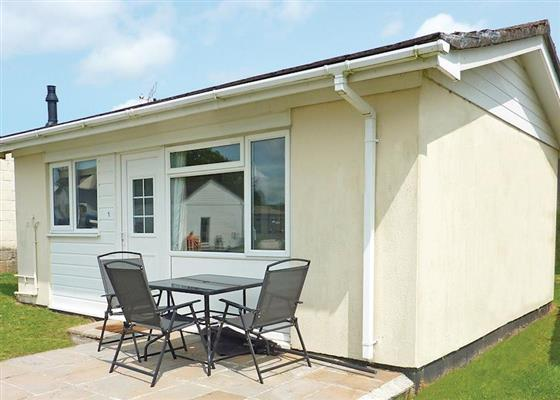 Garden Cottage at Meadow Lakes Holiday Park, St Austell