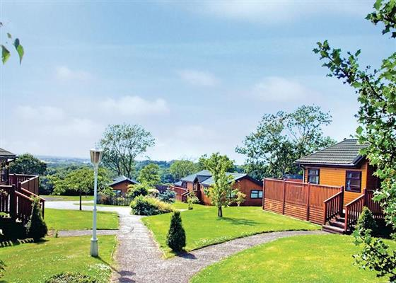 Garden Lodge at Crowhurst Park Lodges, Battle