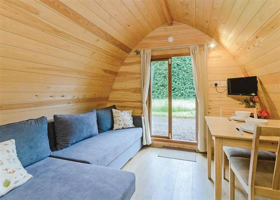 Garden Pod at The Manor Resort Pods, Grimsby
