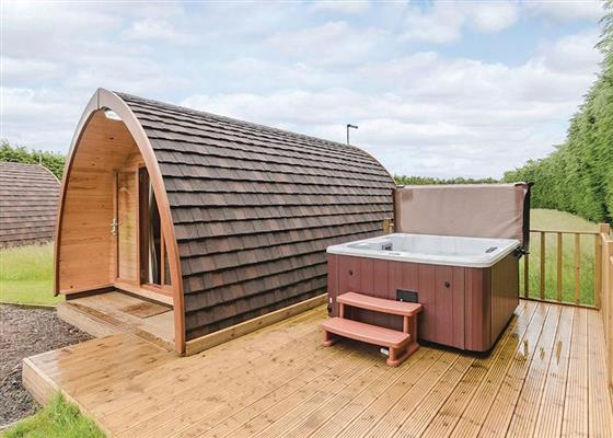 Garden Pod VIP at The Manor Resort Pods, Grimsby