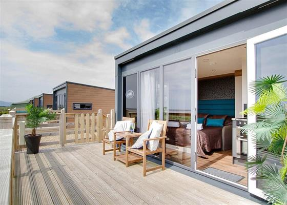 Glamping Pod at Queensberry Bay Leisure Park, Annan