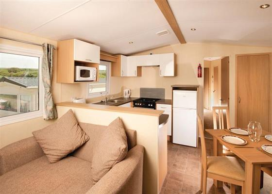Gold Caravan 3 at Widemouth Bay Caravan Park, Bude