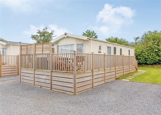 Gold Caravan Six Plus VIP at Dartmoor View, Okehampton