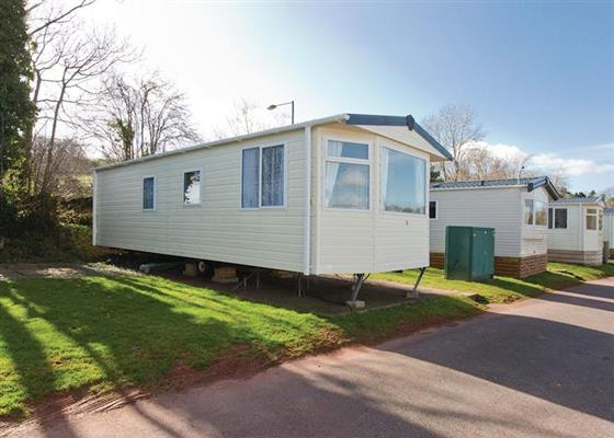 Gold Four Caravan (pet) at Orchard Park, Paignton