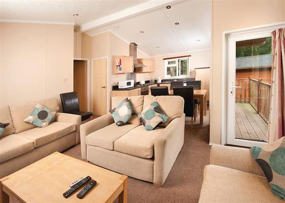 Gold Lodge 6 at St Ives Holiday Village, Saint Ives