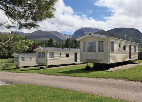 Gold Rio at Lochy Holiday Park, Fort William