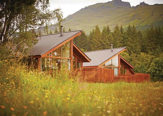 Golden Oak Lochside 1 at Ardgartan Argyll Lodges, Arrochar