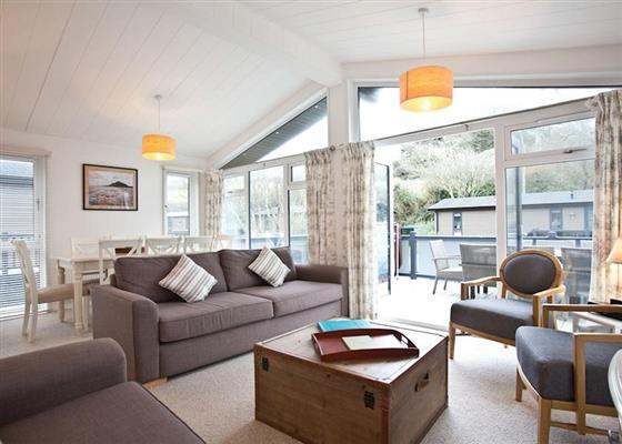 Gwithian Premier at Mullion Cove Lodges, Helston