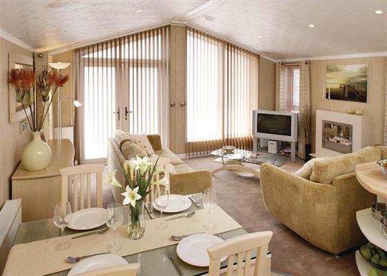 Harlyn Lodge at Newquay Holiday Park, Newquay