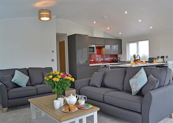 Hazel Lodge at Florence Springs Lakeside Lodges, Tenby