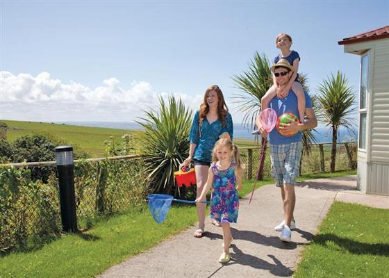 Henford Lodge at Sandymouth Holiday Park, Bude